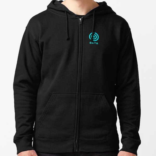KPOP BOY GROUP DAY6 OFFICIAL LOGO Zipped Hoodie