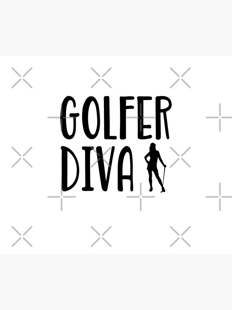 Golfer Diva  - Funny Golf T Shirt and Gifts for Golfers Golfing Men Women von greatshirts