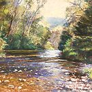 Howqua River Evening by Lynda Robinson