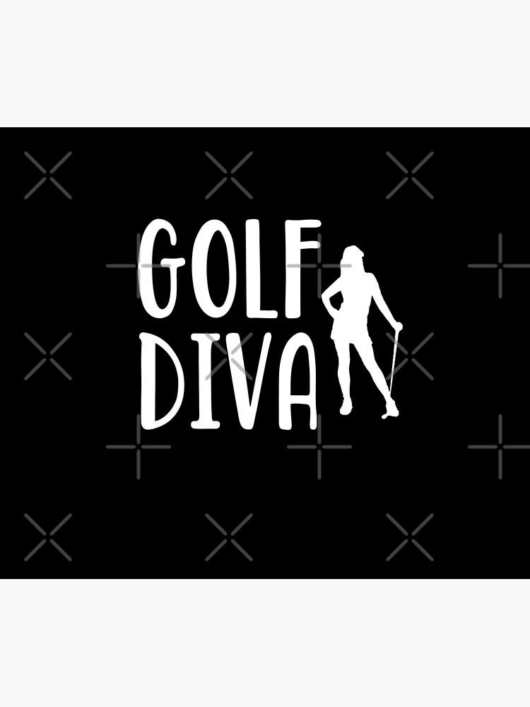 Golf Diva -  Funny Golf T Shirt and Gifts for Golfers Golfing Men Women von greatshirts