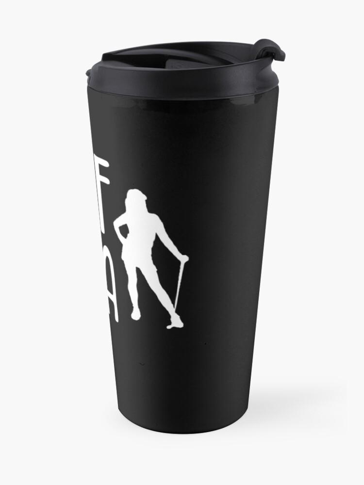 Alternative Ansicht von Golf Diva -  Funny Golf T Shirt and Gifts for Golfers Golfing Men Women Thermobecher