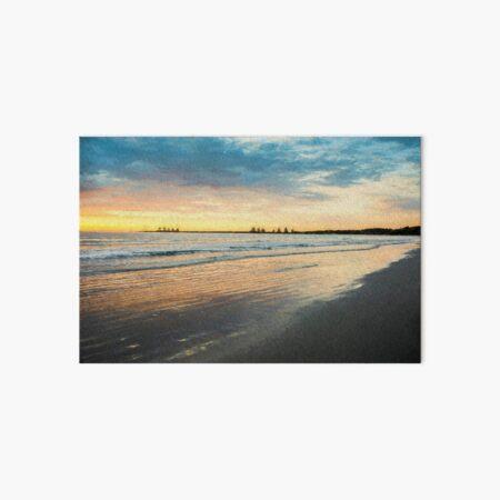 Sunrise at Port Fairy  (Digital Painting) Art Board Print