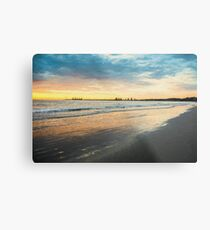 Sunrise at Port Fairy  (Digital Painting) Metal Print