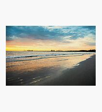 Sunrise at Port Fairy  (Digital Painting) Photographic Print