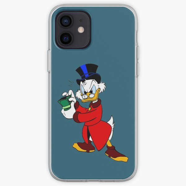 Scrooge McDuck Full iPhone Soft Case