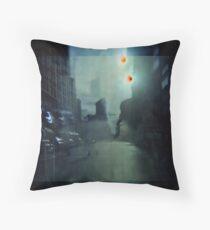 NYC Underwater Throw Pillow