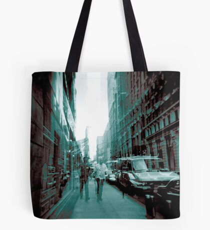 Definitive Blue men. Tote Bag