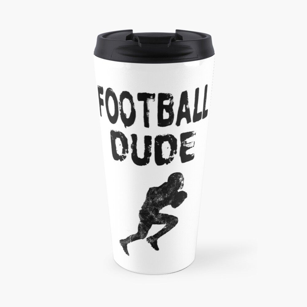 Football Dude  - Funny Football Player Gift for Men Boys Teens  Thermobecher