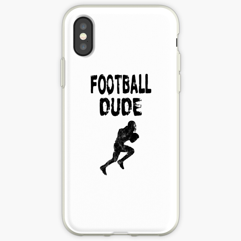 Football Dude  - Funny Football Player Gift for Men Boys Teens  iPhone-Hülle & Cover