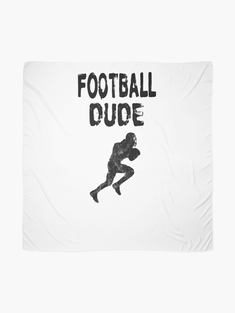 Alternative Ansicht von Football Dude  - Funny Football Player Gift for Men Boys Teens  Tuch