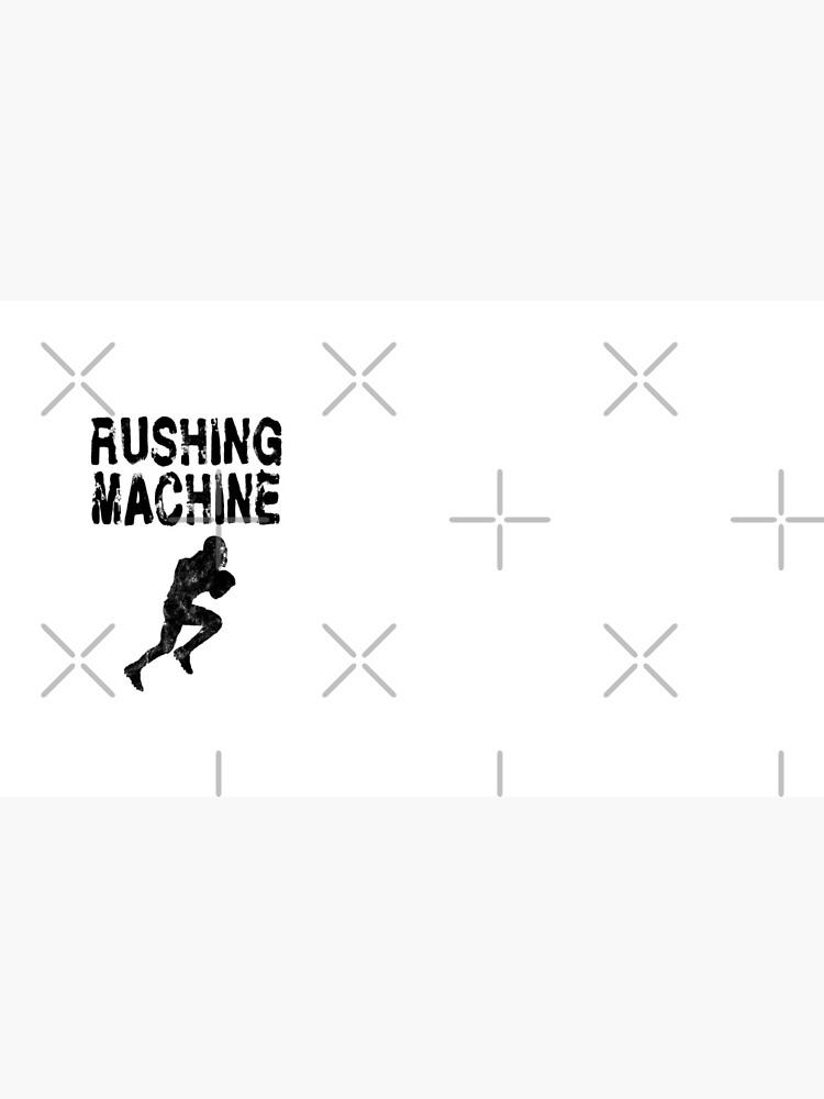 Rushing Machine -  Funny Football Player Gift for Men Boys Teens  von greatshirts