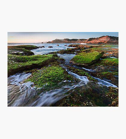 Rock Walker Photographic Print