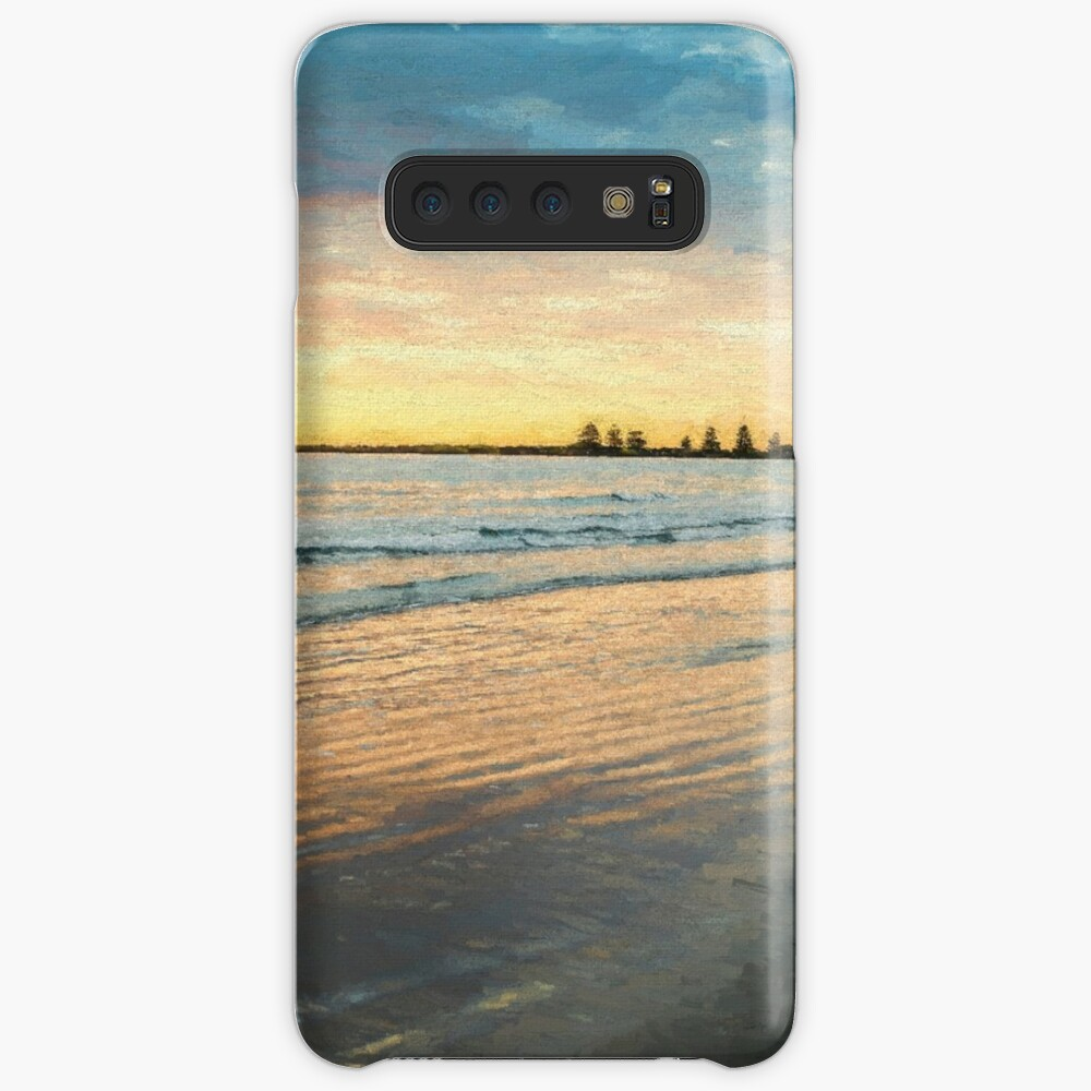 Sunrise at Port Fairy  (Digital Painting) Case & Skin for Samsung Galaxy