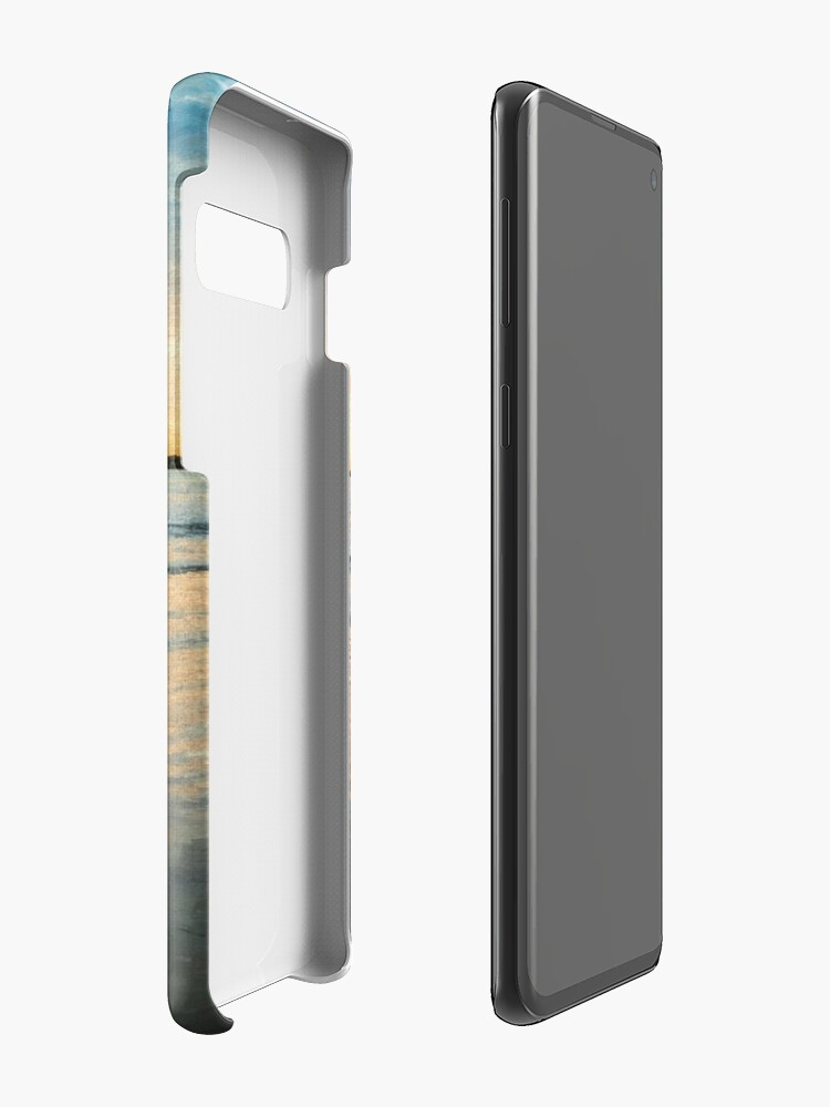 Alternate view of Sunrise at Port Fairy  (Digital Painting) Case & Skin for Samsung Galaxy