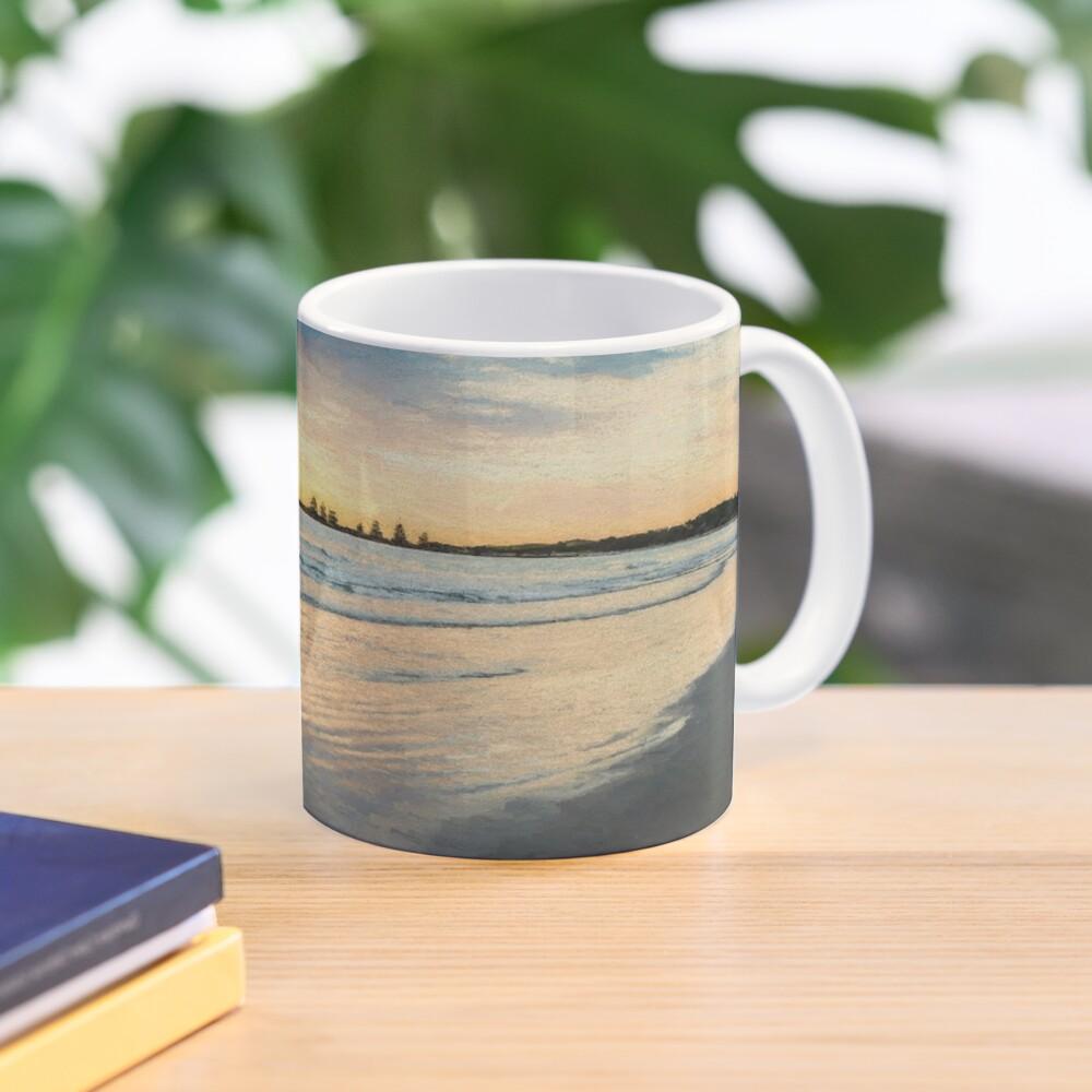 Sunrise at Port Fairy  (Digital Painting) Mug