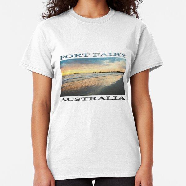 Sunrise at Port Fairy  (Digital Painting) Classic T-Shirt