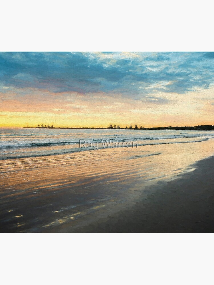 Sunrise at Port Fairy  (Digital Painting) by RayW