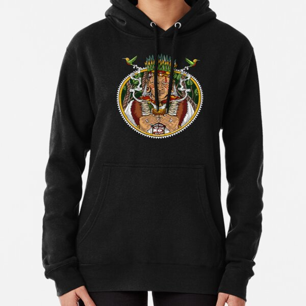 Ayahuasca Shaman  Pullover Hoodie