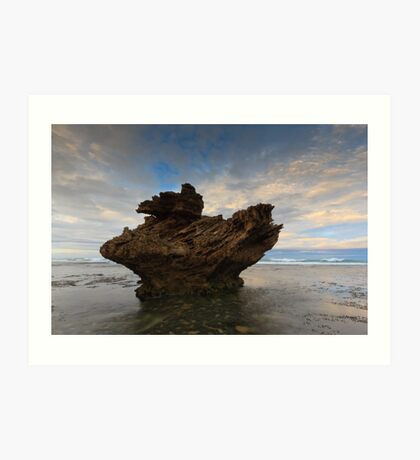And Upon This Rock Art Print
