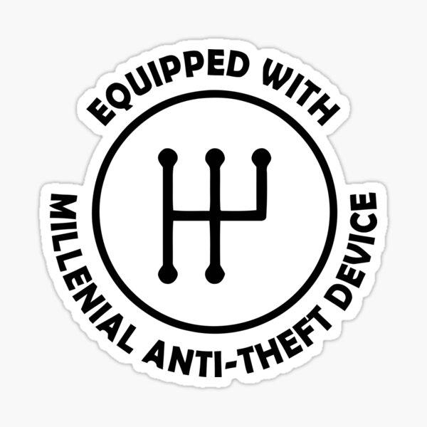 Anti Theft Sticker