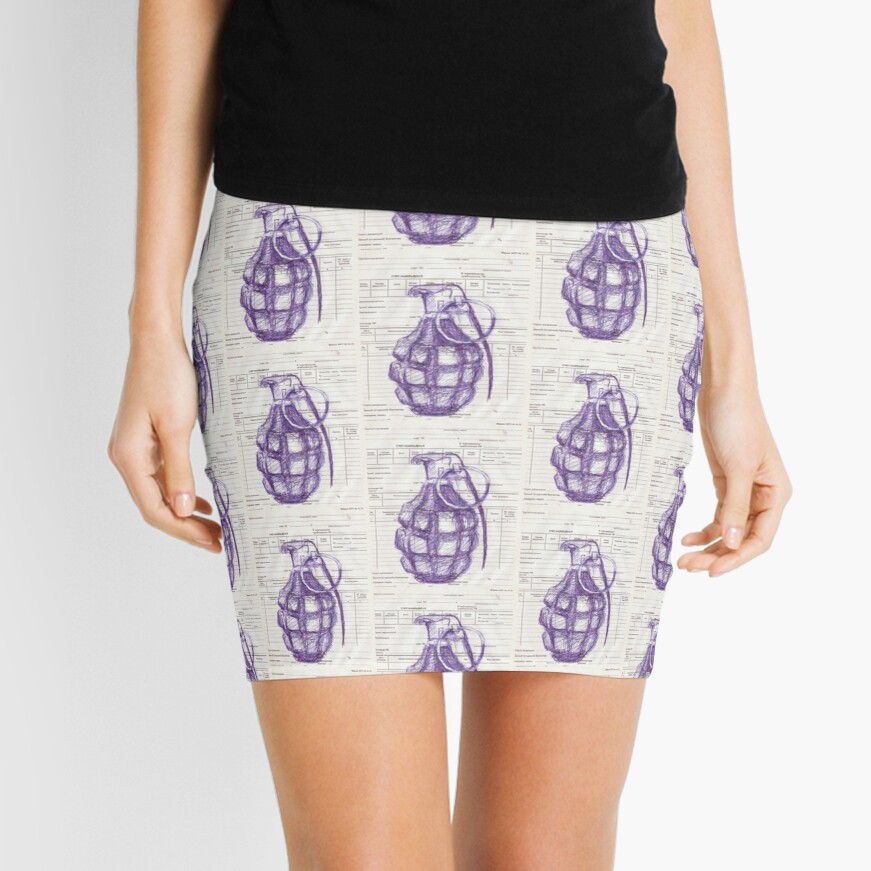 Grenade Mini Skirt