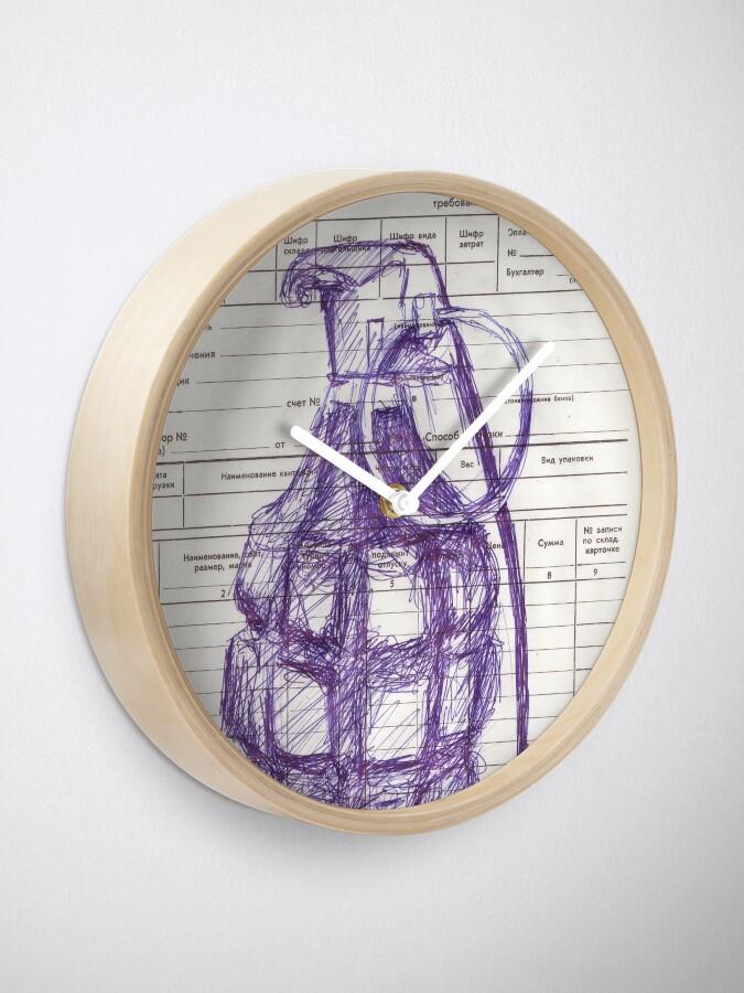 Alternate view of Grenade Clock