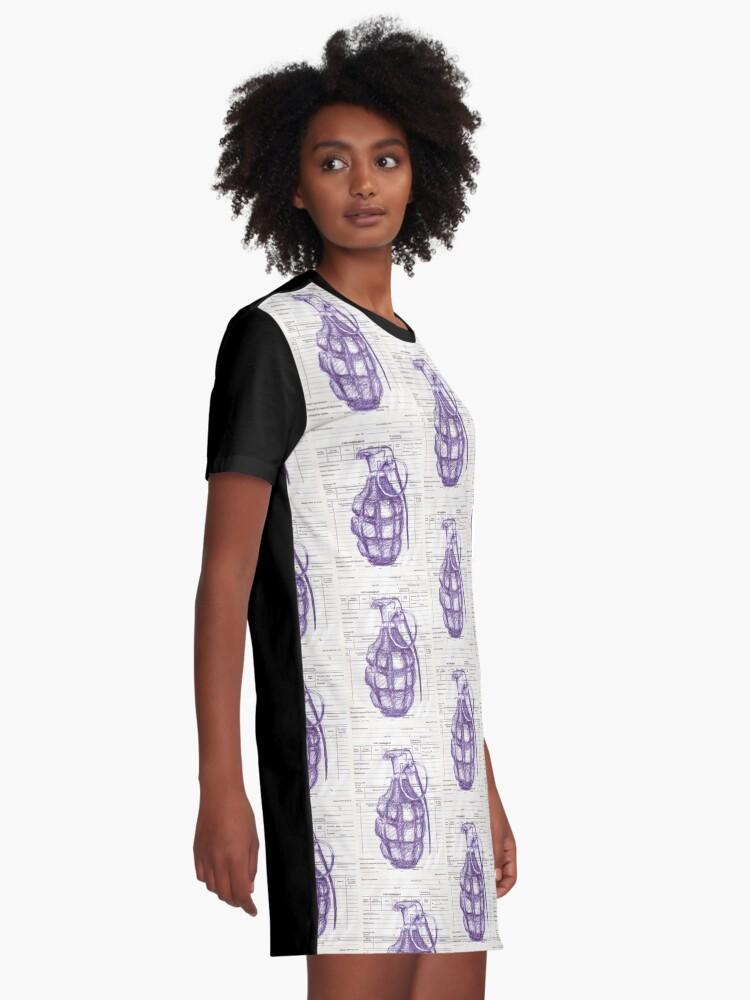 Alternate view of Grenade Graphic T-Shirt Dress