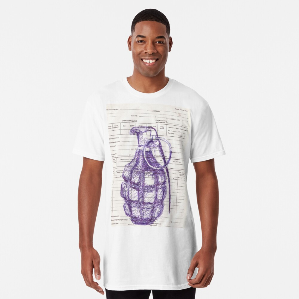 Grenade Long T-Shirt