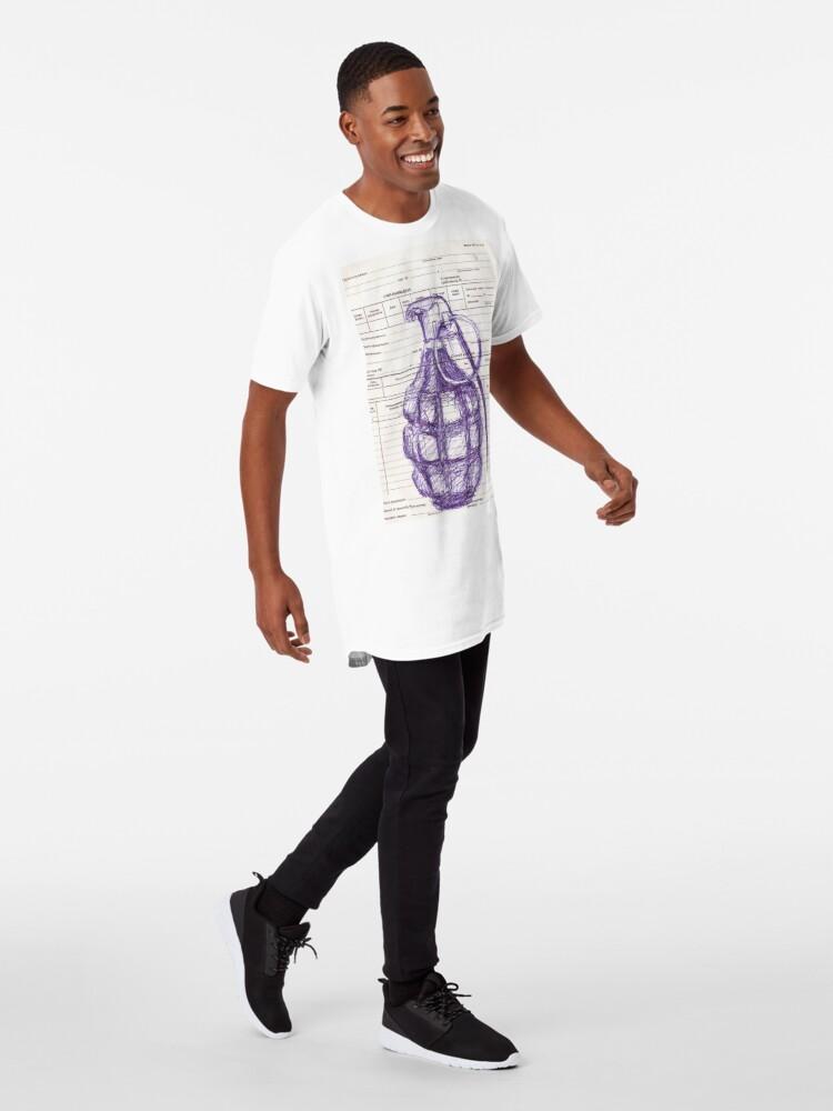Alternate view of Grenade Long T-Shirt