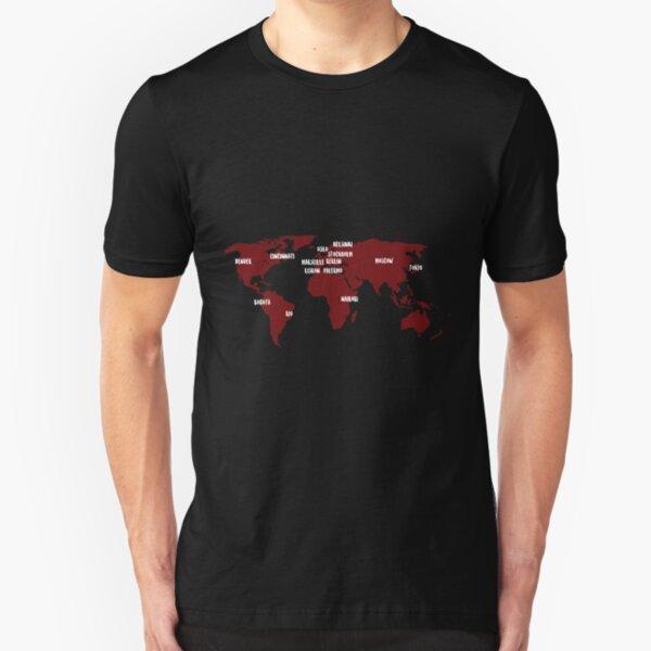 La Casa De Papel Slim Fit T-Shirt