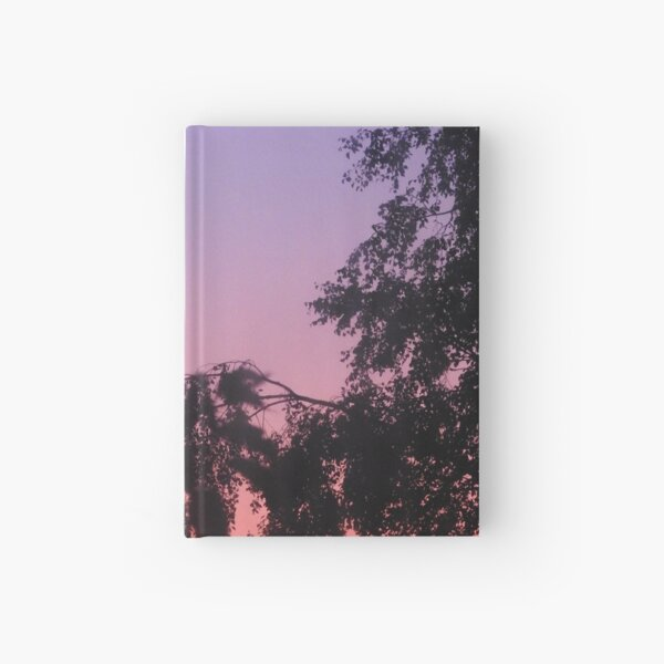 Sunset in the trees Hardcover Journal
