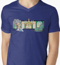 Bad Day Historical Series 1: Marie Antoinette Mens V-Neck T-Shirt