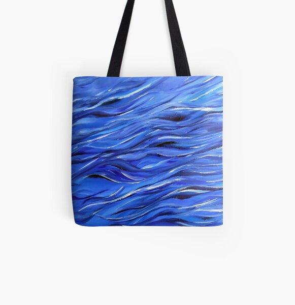 Sea 3 All Over Print Tote Bag