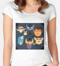 Sony Mascots Women's Fitted Scoop T-Shirt