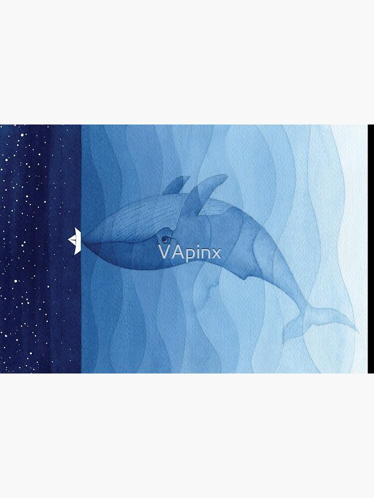 Blue whale, sea animal by VApinx
