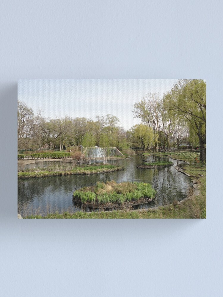 Alternate view of In the Park Canvas Print