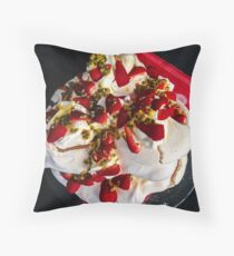 Passion for Pavlova Throw Pillow