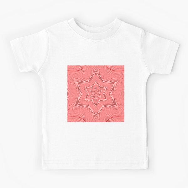 Visual Optical Illusion Kids T-Shirt