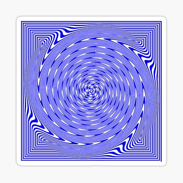 Visual Optical Illusion Sticker