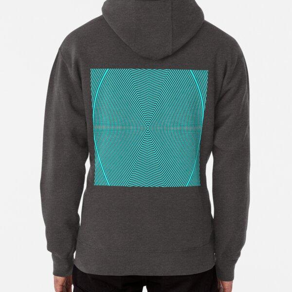 Visual Optical Illusion Pullover Hoodie