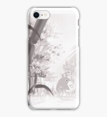Totoro sumi-e iPhone Case/Skin