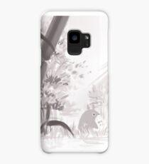 Totoro sumi-e Case/Skin for Samsung Galaxy