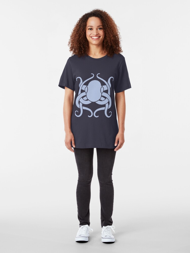 Alternate view of Clever Creature Slim Fit T-Shirt