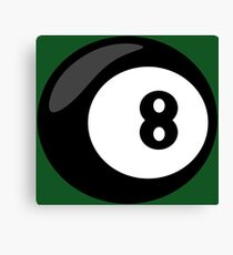 8 Ball Canvas Print