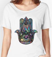 Illuminati Hamsa Women's Relaxed Fit T-Shirt