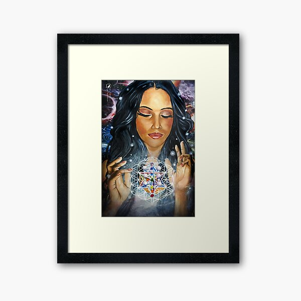 Manifestation of Ascension Framed Art Print