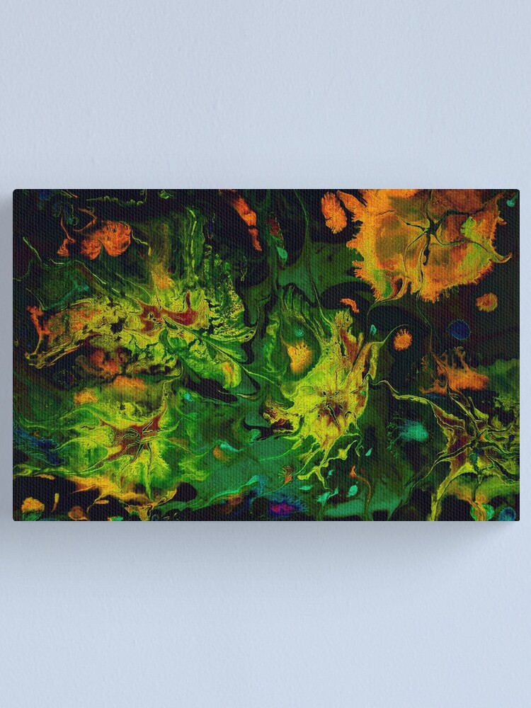 Alternate view of Abyssal Life: undersea marine life Canvas Print