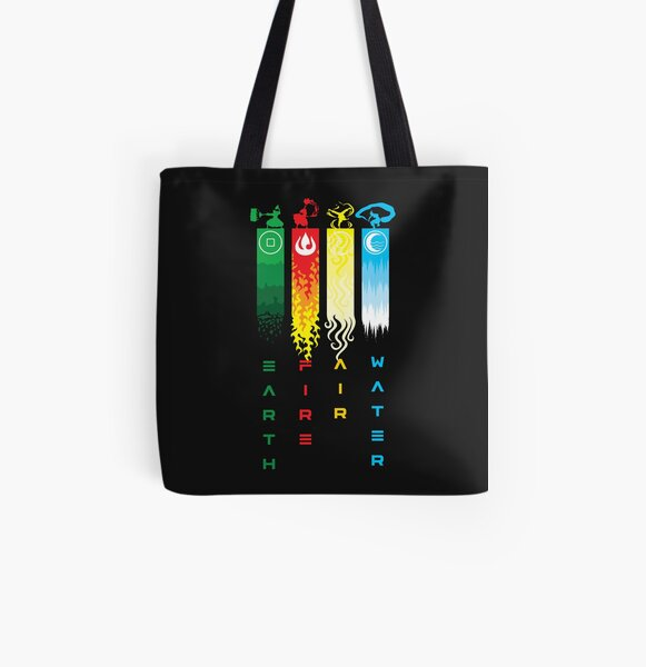 Elements  All Over Print Tote Bag
