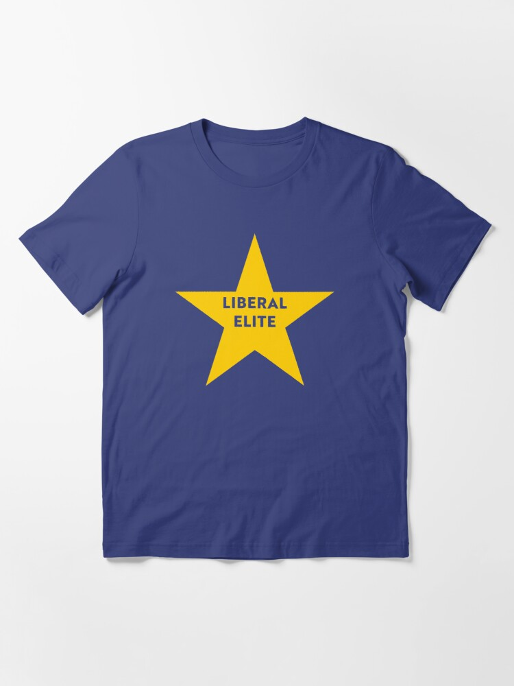 Alternate view of NDVH Remainer Liberal Elite Essential T-Shirt