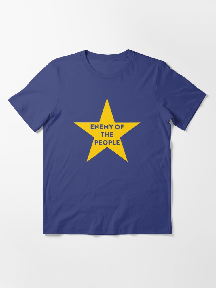 Alternate view of NDVH Remainer Enemy of the People Essential T-Shirt